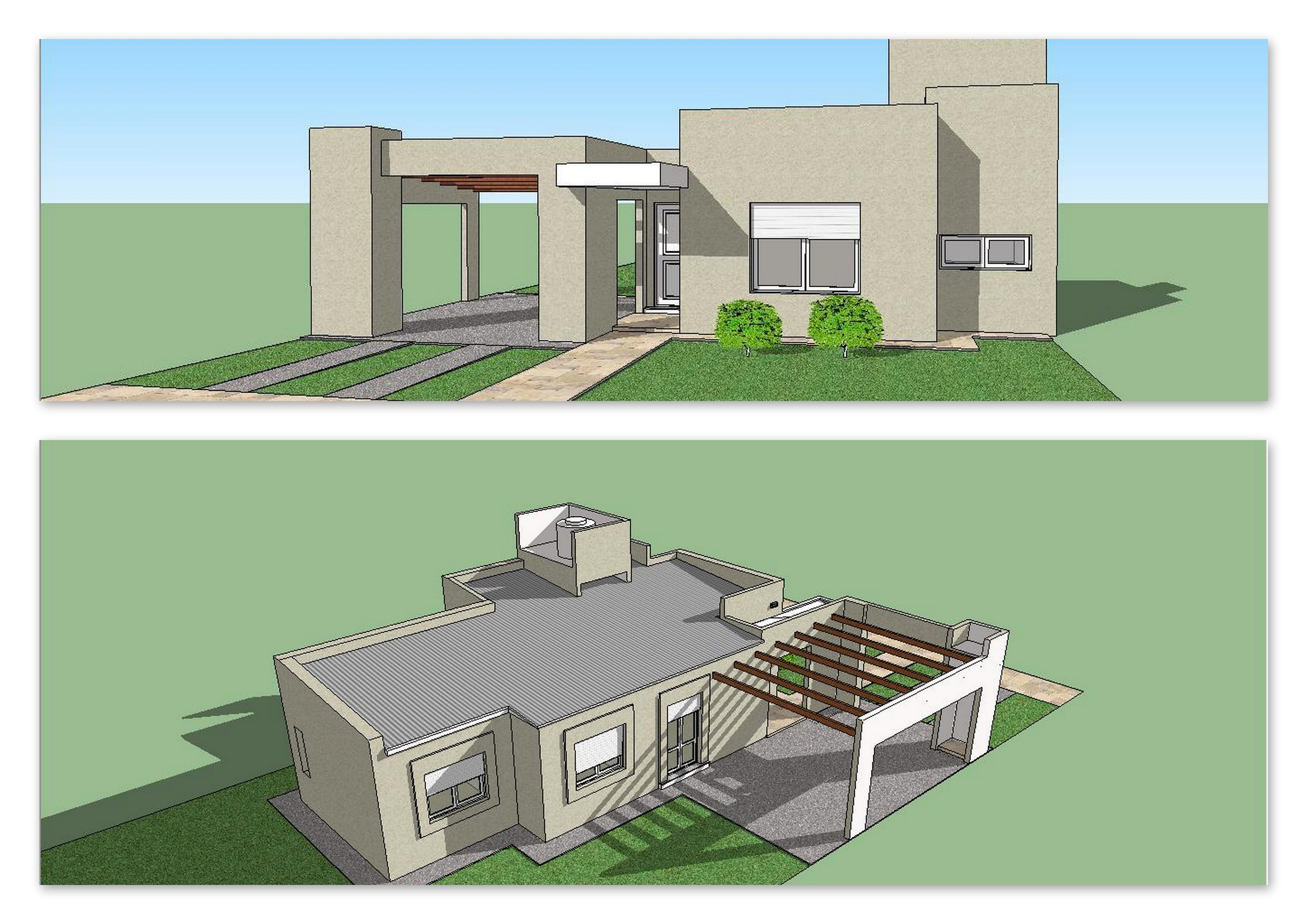 Viviendas modelos cec col n buenos aires for Modelos de viviendas